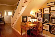 Under Stairs Design Ideas, Pictures, Remodel, and Decor - page 3, desk