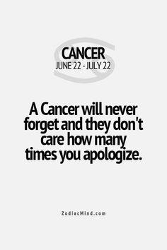 I definitely do not forget.