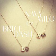 On my wishlist - Minitials Gold Necklace, Beautiful, Jewelry, Style, Swag, Gold Pendant Necklace, Jewlery, Jewerly, Schmuck