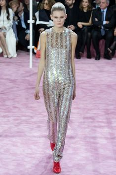 Christian Dior Spring 2015 Couture - Collection - Gallery - Style.com // sequin jumpsuit YEP