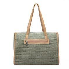 Folkowy kuferek-aktówka w kolorze zielonym