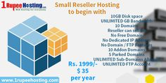 Small Reseller Hosting to begin with Rs.1999/-