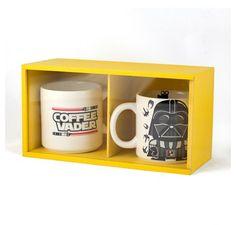 Kit Luxo Coffee Vader | Fábrica9 - Loja de Presentes Criativos e Decoração Criativa