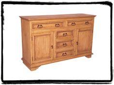 Pine Rustic Sideboard