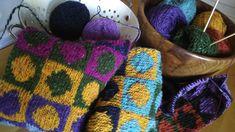 Ako štrikovať sveter/vestu - (predný diel-dekolt a Donegal, Double Knitting, Fingerless Gloves, Arm Warmers, Tweed, Knitted Hats, Youtube, Braid, Bucket