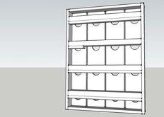 Como hacer un porta vinos de pared | Todo Manualidades Storage Ideas, Bookcase, Shelves, Furniture, Home Decor, Built In Wine Rack, Minimalist, How To Make, Shelving