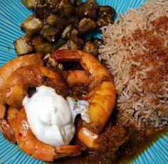curry shrimp from Martha Stewart
