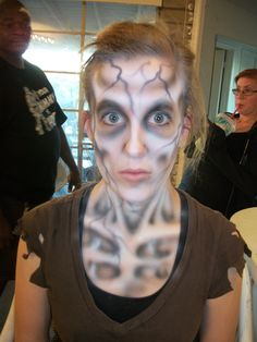 Dehydrated Zombie Makeup by CLeigh-Cosplay on DeviantArt Edgy Makeup, Zombie Makeup, Dramatic Makeup, Sfx Makeup, Costume Makeup, Makeup Art, Halloween Cosplay, Halloween Makeup, Halloween Fun