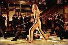 Taking on the 'Crazy 88' in Kill Bill: Vol. 1 (2003)
