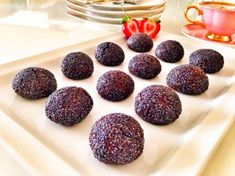 Turkish Recipes, Sweet Recipes, Biscuits, Raspberry, Almond, Cereal, Deserts, Pudding, Yummy Food