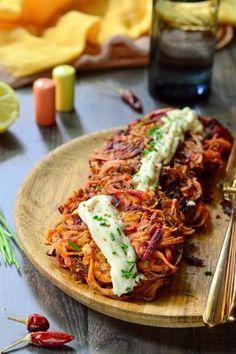 Édesburgonyás céklaröszti majonézzel recept Clean Recipes, Cooking Recipes, Healthy Recipes, Food 52, Diy Food, Potato Recipes, Vegetable Recipes, Diet Desserts, Main Meals