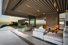 SAOTA together with interior designer Debra Parkington, have designed a new home in Bantry Bay, Cape Town, South Africa