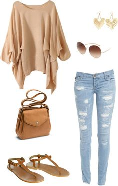Campus / University Outfit Inspo.