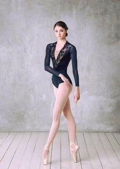 Luxury velvet leotard with plunge V-neckThis Content For You Personally If You Love collectible Ballet Art, Ballet Dancers, Ballet Leotards, Vinyl Pants, Ballet Images, Long Sleeve Leotard, Bolshoi Ballet, Dance Poses, Ballet Photography