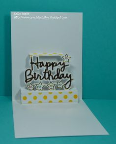 Lovin The Life I Color: A Happy Birthday card for a Friend using Karen Burniston and Elizabeth Craft Designs!