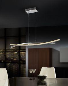 Lampara techo led minimalista moderna  #iluminacion