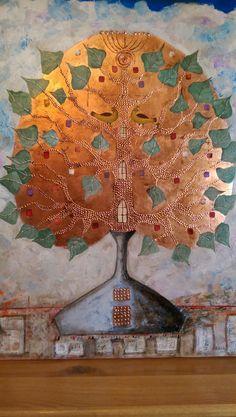 Tree of Life copper leafs Tree Of Life, Copper, Leaves, Paintings, Art, Art Background, Paint, Painting Art, Kunst