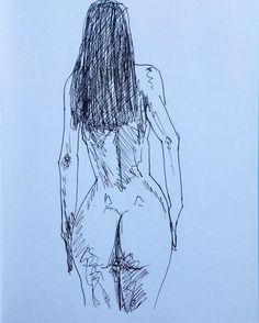 Back naked #eroticart #art #myart #drawing...   Under Construction