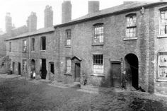 Back to backs Pope street early 1900's