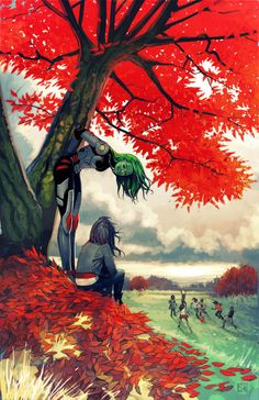 Guardians of the Galaxy #20 anti-bullying variant cover - Gamora by Stephanie…