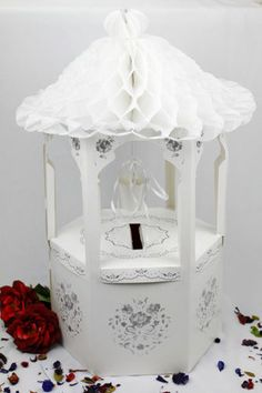 Wedding Gift Receiving Box : Wedding Wishing Well / Card Receiving BoxWedding, Engagement ...