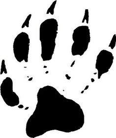 Bearcat Paw Clip Art | bear paw tracks free cliparts that you can ...