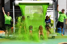Nickolodeon Slime!! :D Always wanted to go to Orlando Florida just simply to play in this stuff :P