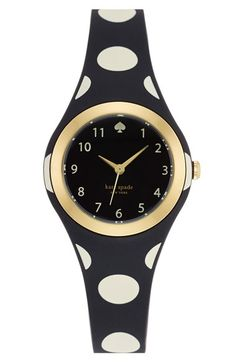 Love this polka dot Kate Spade watch