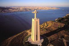 Lisbon Sightseeing - Lisbon Places to See - ELLE Magazine - June 2013 - Cristo Rei, Lisbon, Portugal