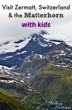 Planning to visit Zermatt & the Matterhorn with kids? Read on to learn all out our experience in Zermatt & Gornergrat, Switzerland plus trying to see the Matterhorn.