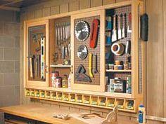 Awesome Sliding Door Shop Cabinet