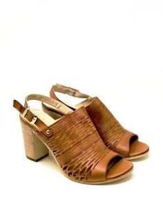 Casual Heels, Casual Dressy, Womens Fashion Stores, Women Lifestyle, Open Toe, Ankle Strap, Heeled Mules, Trends, Leather