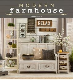 Modern Farmhouse Decor how to give any house farmhouse style - | style, inspiration and
