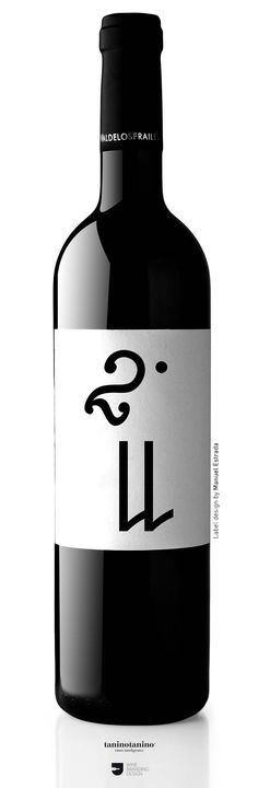 DILAB 211 Matarromera - 12 Labels - 12 Designer. Valdelosfrailes Vendimia Seleccionada 2005. D.O. Cigales. Tempranillo 100%. Spain. #taninotanino #vinosmaximum