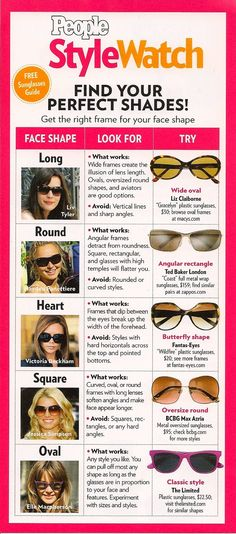 women sunglasses :choose the perfect sunglasses to suit your perfect face ; Sunglasses 2014, Summer Sunglasses, Sunglasses Women, Glasses For Round Faces, Optical Shop, Fashion Eye Glasses, California Style, Womens Glasses, Tips Belleza