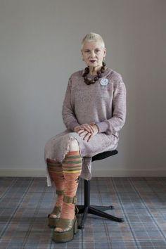 Vivienne Westwood, brit de décoffrage - Libération 26 décembre 2014