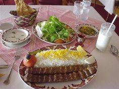 Chelokabab. Iran's traditupional meal. Everybody loves it.