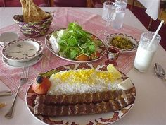 Chelokabab. Iran's traditupional meal. Everybody loves it.