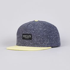 The Quiet Life Speck Snapback Cap Yellow