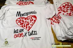 Shirt per il progetto Il Cuore di Monteporzio