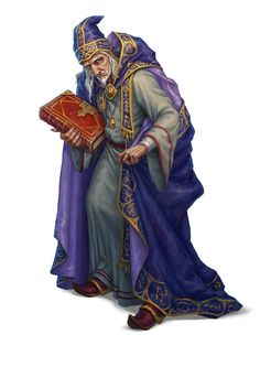m Wizard Old magic book robes