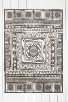 """Teppich """"Sajana"""" in Grau, 5 x 7 Fuß"""