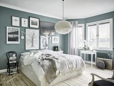A little something different than your usual Scandinavian apartment Daily Dream Decor