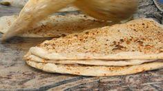 طريقة عمل خبز الصاج السعودي