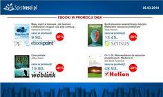 ⇨ http://sptr.pl/1hNlBRS ⇨ http://sptr.pl/1f8nT0O ⇨ http://sptr.pl/1f8obVy ⇨ http://sptr.pl/1f8mqrl  #ebook #promocjednia #promocje #ebooki