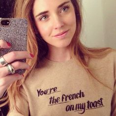 The Reformation Breakfast Sweater | Spotted on @Chiara Ferragni