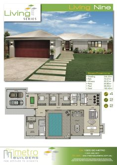 Plan Design, Design Ideas, House Plans Design, House Design, Cool House  Plans, Home Goods, How To Plan, Love Dream, Live, Home Layouts, Trendy  Tree, Plants, ...