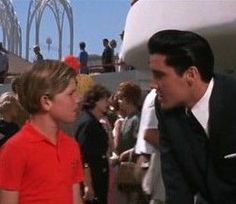 Kurt Russell in his first movie with Elvis - 'It happened at the World's Fair' 1963 but his role went uncredited