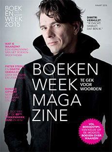 Boekenweekmagazine een rijke bron van informatie bij het thema 'Waanzin. Te gek voor woorden. Boordevol boekentips: een keuze uit de mooiste boeken over 'Waanzin'. Verkrijgbaar Bibliotheek Drunen, Heusden en Vlijmen