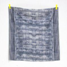 Nani Iro Kokka Japanese Fabric ori-some beni by MissMatatabi